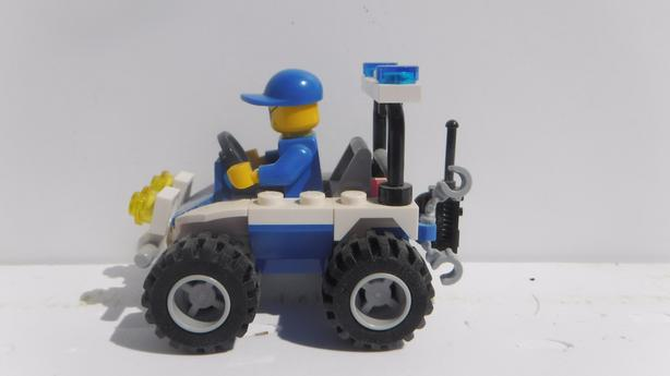 LEGO CITY 30228: Police ATV - Used, Complete with
