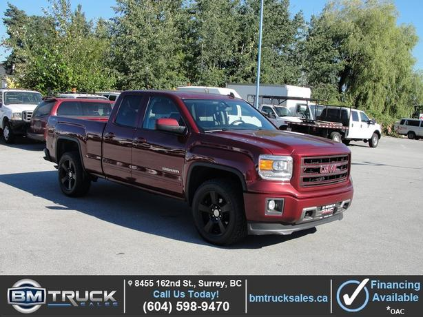 "2015 GMC SIERRA 1500 ELEVATION EDITION DOUBLE CAB 4X4 20"" WHEELS"