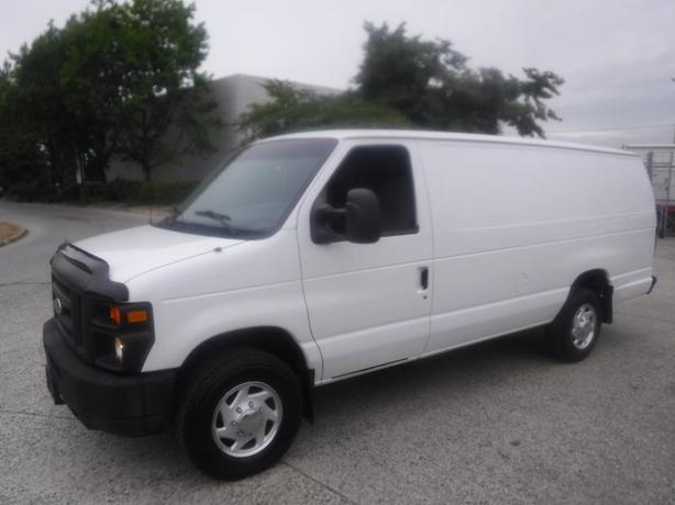 2008 Ford Econoline E-350 Super Duty Extended Diesel Cargo Van