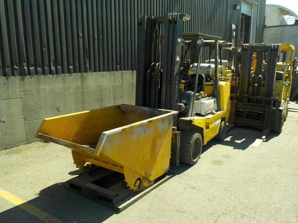2000 Toyota FGC45 Propane 3 Stage Forklift