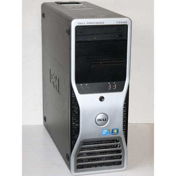 Dell Precision T3500 Workstation Computer Xeon 4Cores 12GB RAM 500GB Windows 7