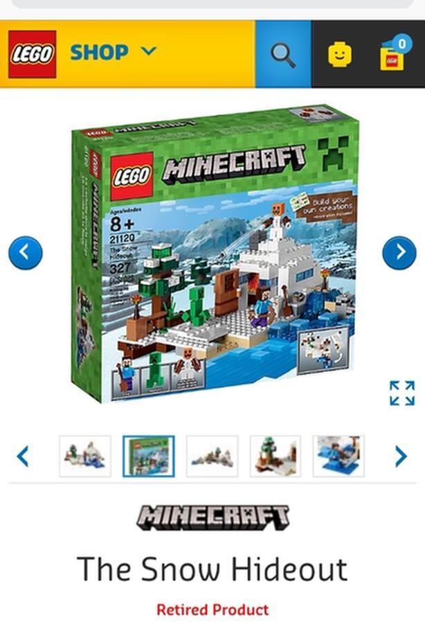 Minecraft Lego (retired set)