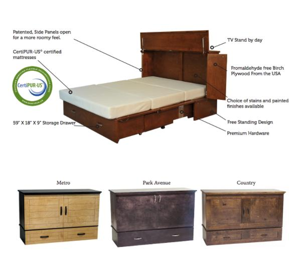 Cabinet Bed at Woodcraft Furniture Victoria City, Victoria
