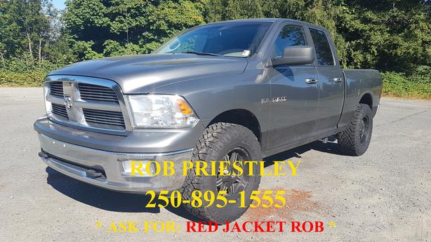 2010 RAM 1500 QUAD CAB SLT 4X4 * RED JACKET ROB *