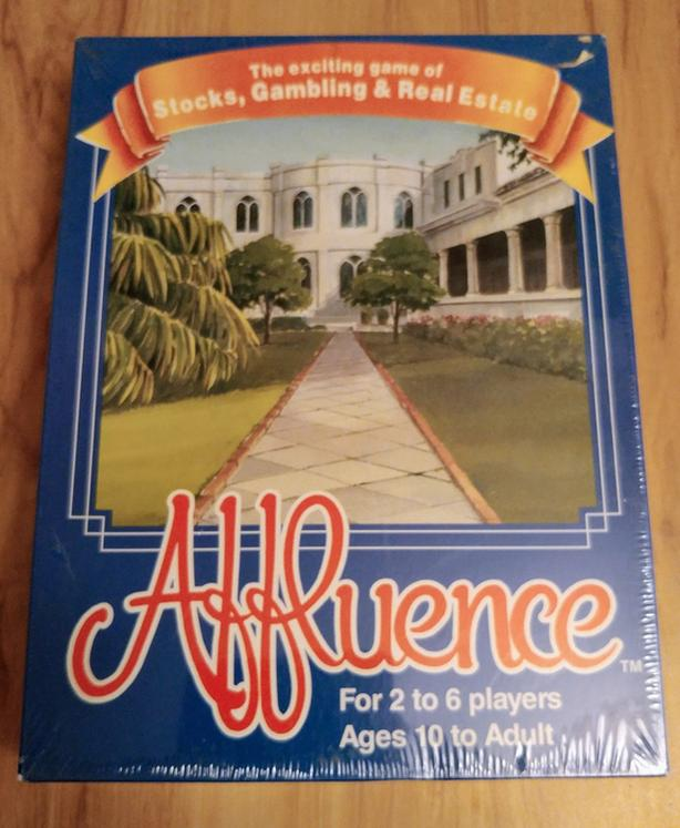 Affluence vintage board game