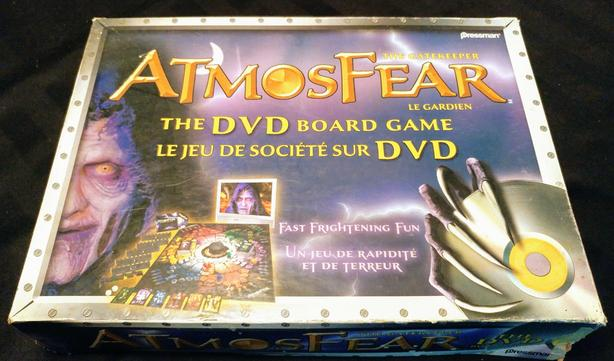Atmosfear board game (incomplete)