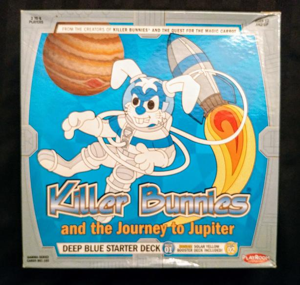 Killer Bunnies and the Journey to Jupiter board game