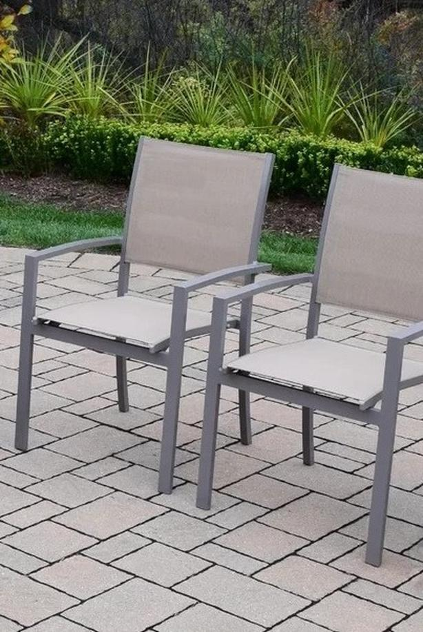 Pair of outdoor deck / patio chairs