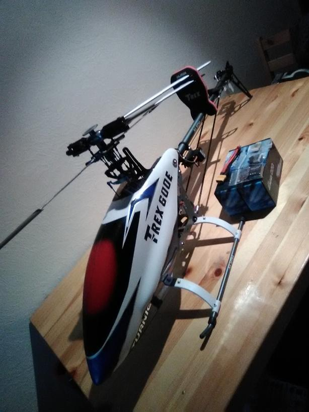 Align TRex 600E CF (FlyBar & FlyBarless Available) (Ready to FLY)
