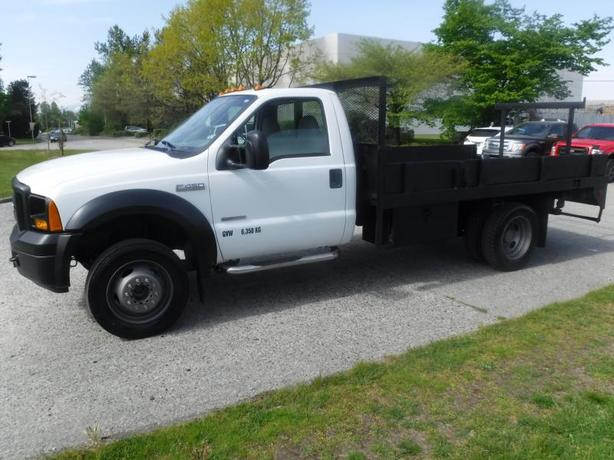 2007 Ford F-450 SD 12 Foot  Flat Deck Diesel Regular Cab 2WD DRW