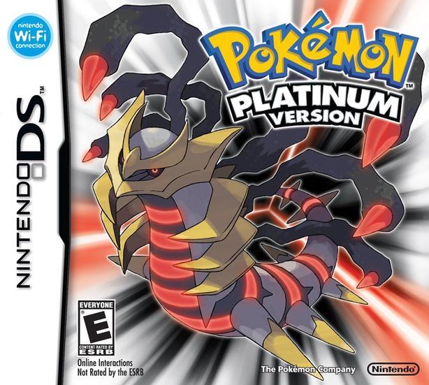 WANTED: Pokemon Platinum