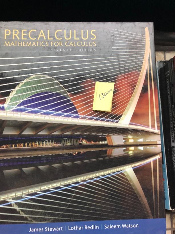 Precalculus 7th Edition By North Regina Regina