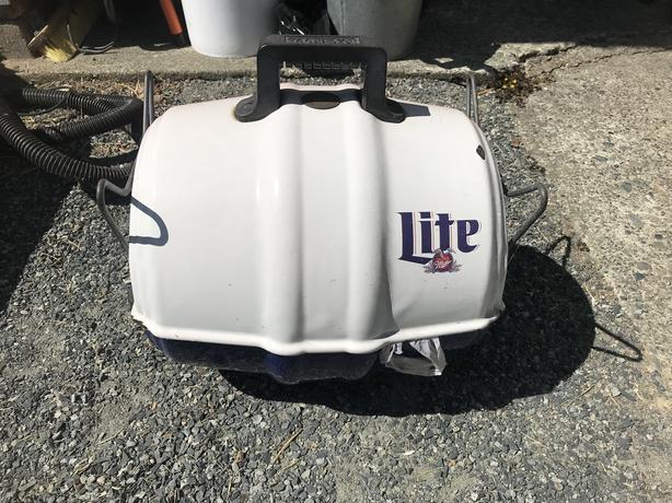 Miller Lite Keg-a-Que Grill
