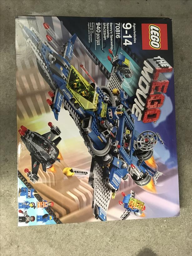 LEGO Movie Creator set Benny's Spaceship, spaceship, SPACESHIP!