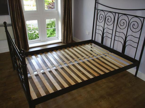 timeless design 22fed 7ca76  Log In needed $80 · Ikea Noresund Queen Bed Frame