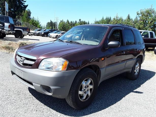 2001 Mazda Tribute Dx 6 Cyl Awd Selling To The Highest