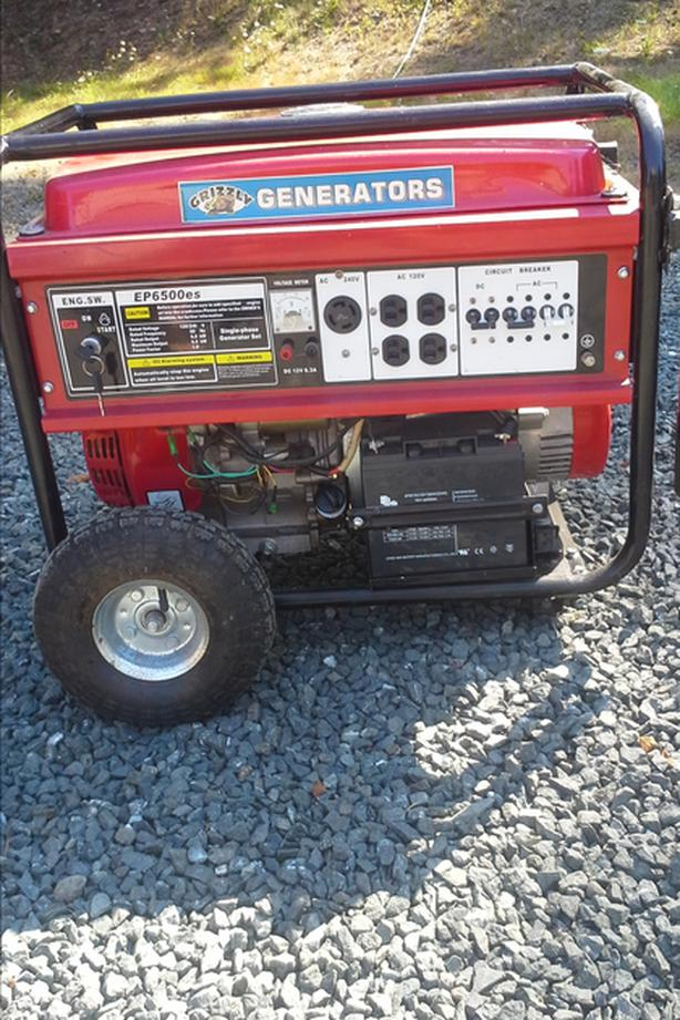 13 HP Grizzly generator