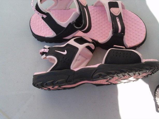 Nike ACG sandals, name is Jesus or teva