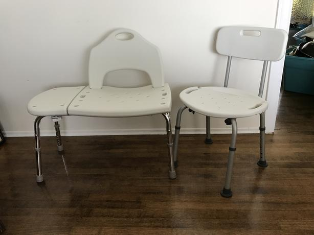 Transfer bench and shower chair Esquimalt & View Royal, Victoria