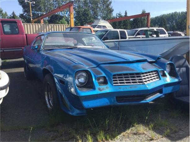 1978 Chevrolet Camaro Outside Victoria, Victoria