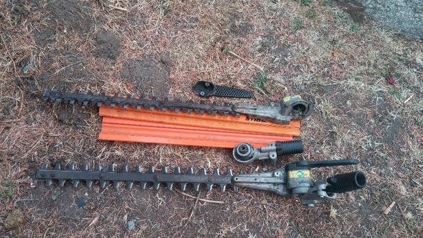 FREE: 2 x Stihl hedge trimmer heads  Saanich, Victoria