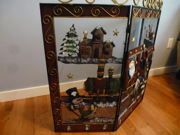 Christmas Fireplace Screen.Log In Needed 15 Christmas Themed Fireplace Screen