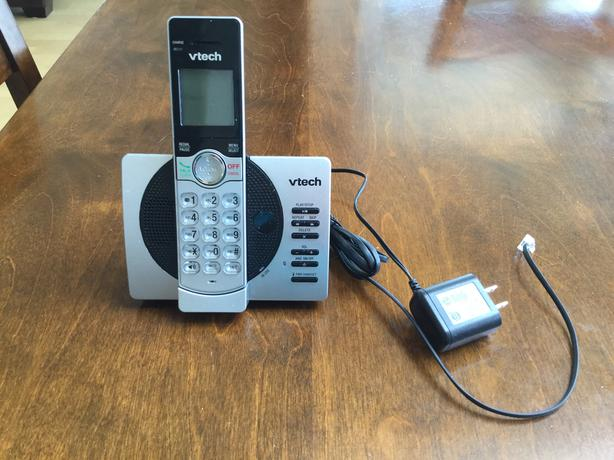 Vetch cordless phone with answering machine