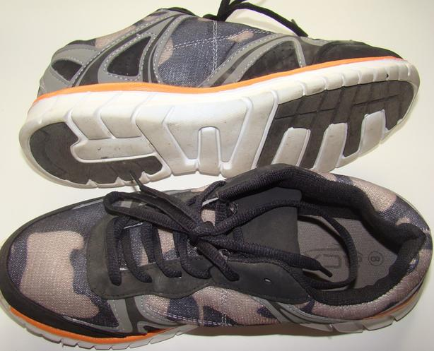 ACX Black n Gray Men/Boys Shoes Great Condition Size 8