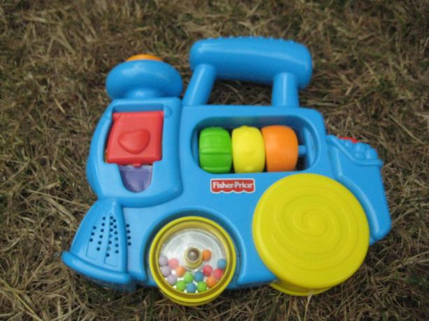 THREE MUSICAL BABY TOYS BY FISHER PRICE