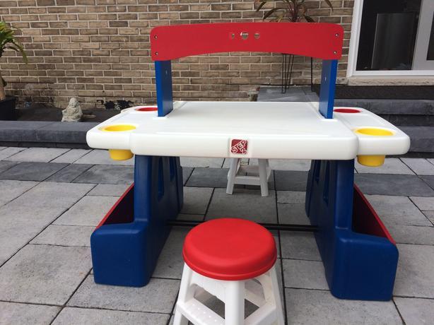 Step 2 Childrens Double Desk Convertible Rideau Township Ottawa
