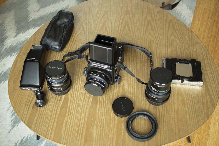 $2,200 · Mamiya RZ67 Pro ii Body W/ 3 Lenses & Accessories