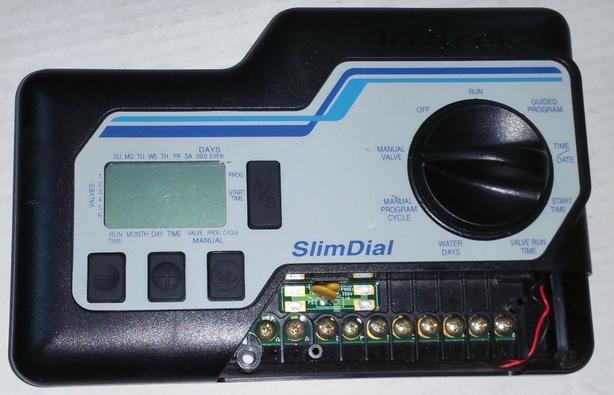 $50 · Sprinkler irrigation controller Irritrol Slim Dial