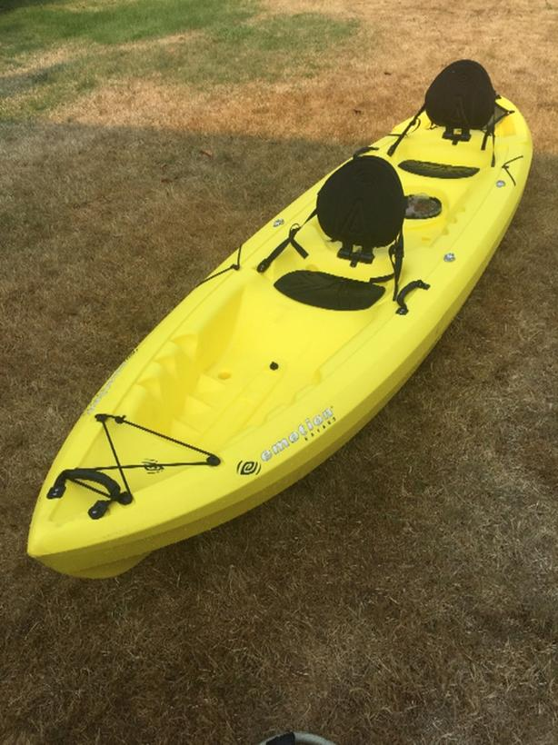 Emotion Tandem Kayak Central Saanich, Victoria