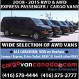 19P BUS  *12 PASSENGER * 8 & 15* 2O16 - 08 Express Savana Ford VANS
