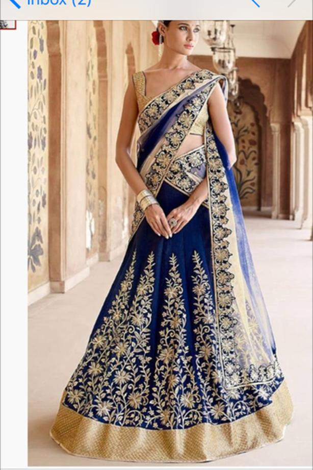 Stunning Bridal and party wear designers replica lehengas