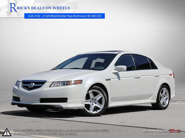 2005 Acura TL 4dr Sdn AT We Finance Outside Victoria, Victoria