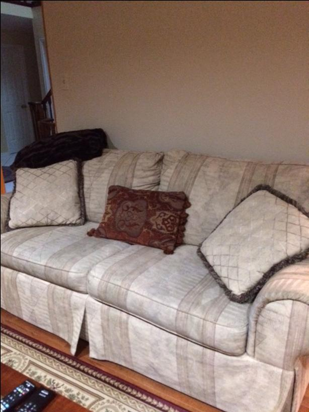 Two full sofas in a very good condition
