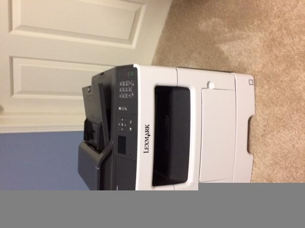 Lexmark laser printer MX310den and two Monitors