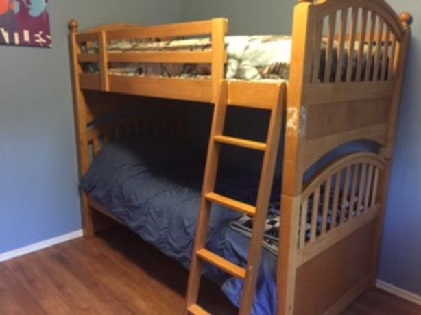 Wood Bunk Beds Saanich Victoria