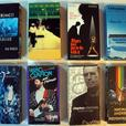 8 vintage VHS music video tapes Depeche Mode, Enya, Eric Clapton, Tony Bennett