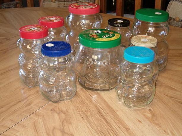 Peanut Butter Bear Head Amp Bow Tie Glass Jar South St Vital