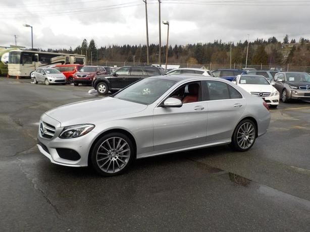 2015 Mercedes-Benz C-Class C400 4MATIC Sedan