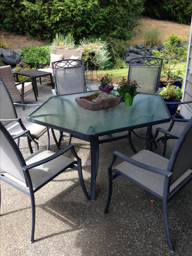 7pc Patio Set Table And 6 Chairs Parksville Nanaimo Mobile