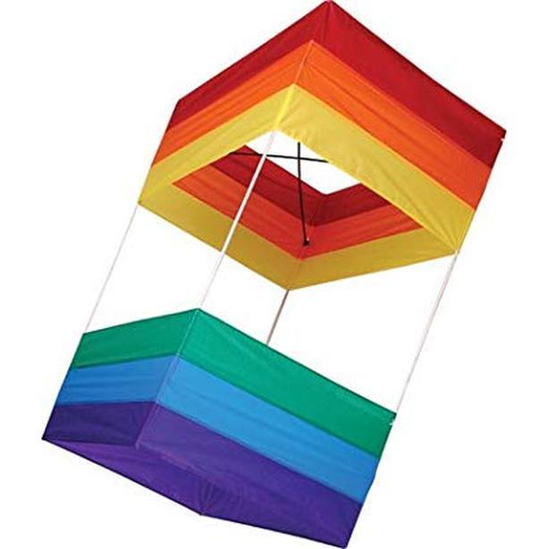 "KITE Traditional Box Kite, 20"" x 40"""