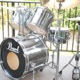 1990'S PEARL EXPORT DRUM SET BRAND NEW HEADS