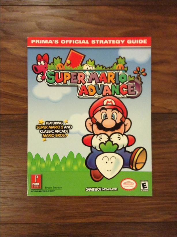 Super Mario Advance Game Guide For Sale Saanich, Victoria