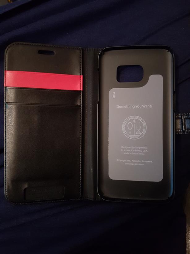 Galaxy S7 edge spigen wallet case