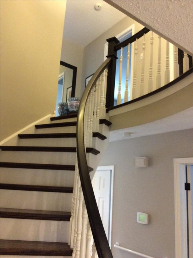 White Spindles For Staircase