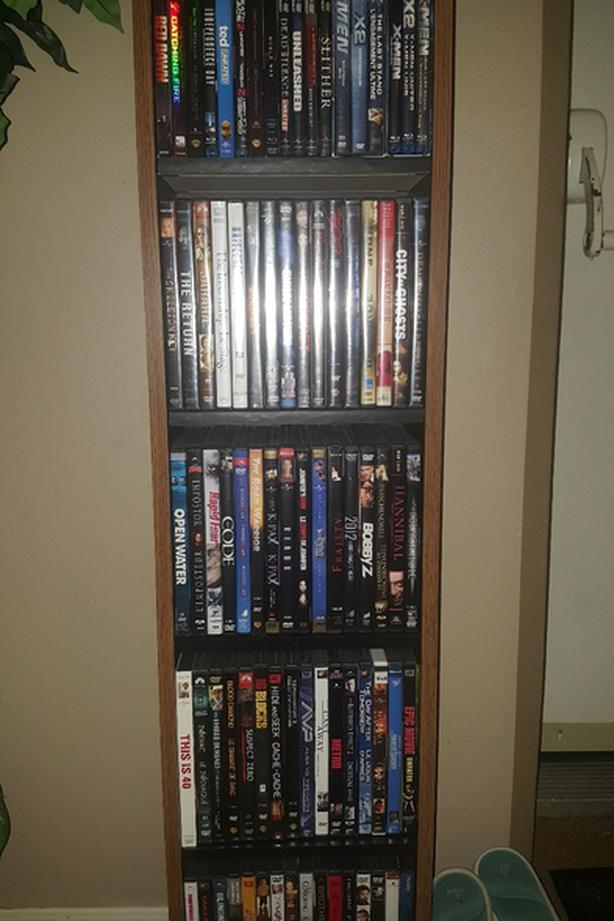 DVD`s and some blu-ray`s