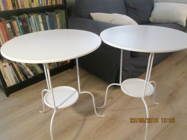 2 IKEA end tables
